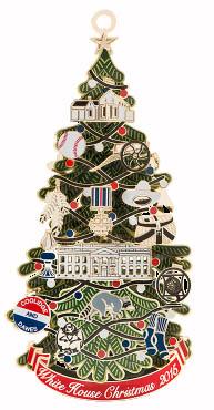 White House Ornament 2015
